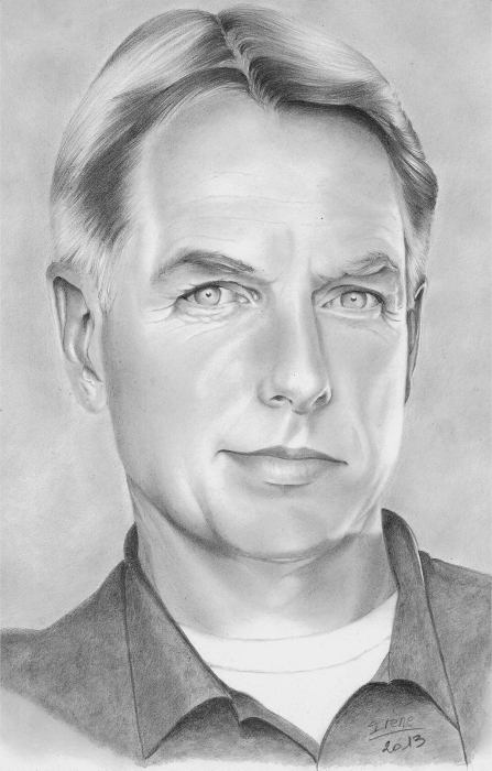Mark Harmon by peggy